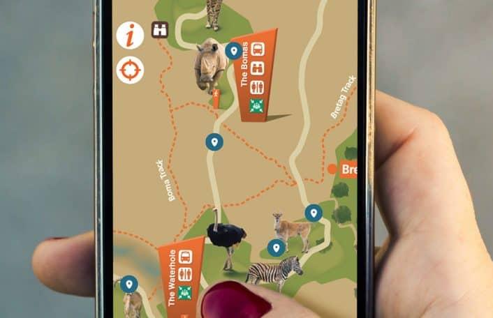 Monarto Zoo app